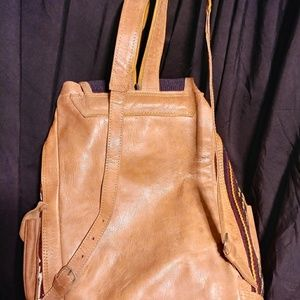 Bags - Handmade Serape leather backpack